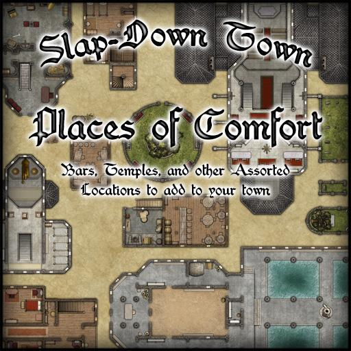 Slap-Down Town Places of Comfort