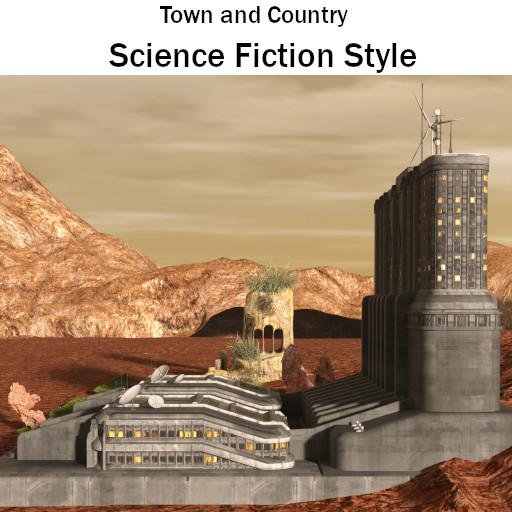 Town & Country: Science Fiction City