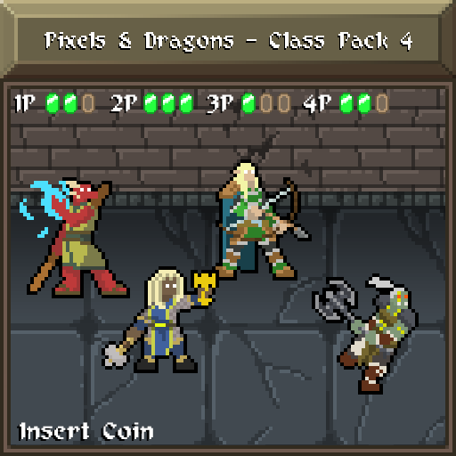 Pixels and Dragons - Class Pack 4