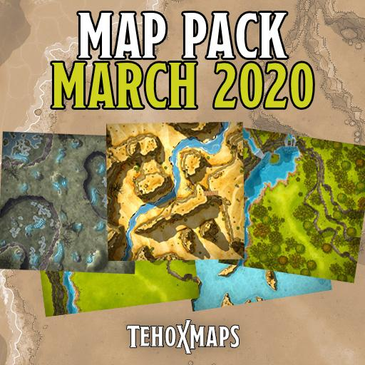 TehoxMaps March 2020