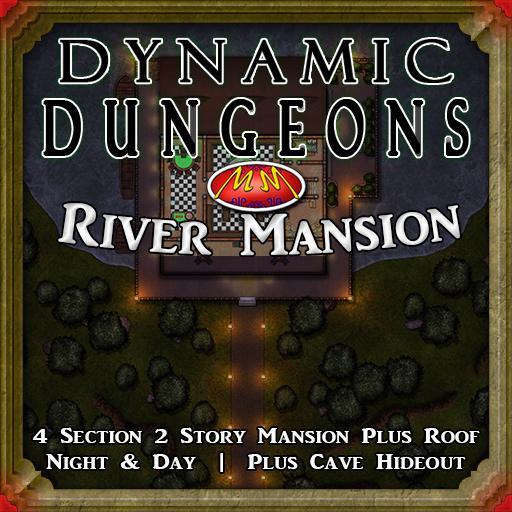 Dynamic Dungeon V13 Riverside Mansion