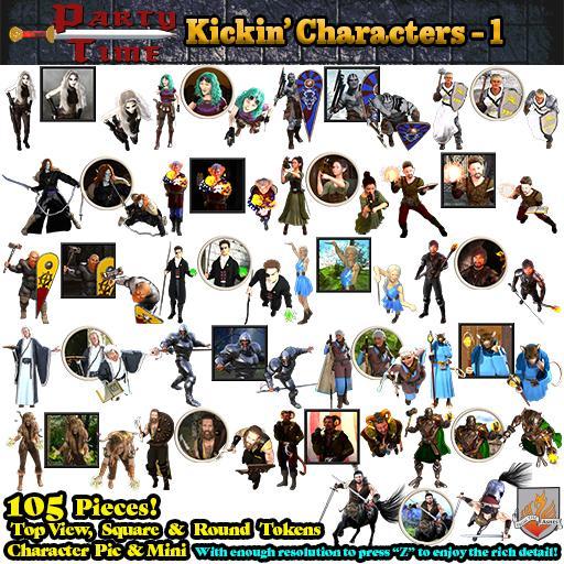 Kickin' Characters - 1