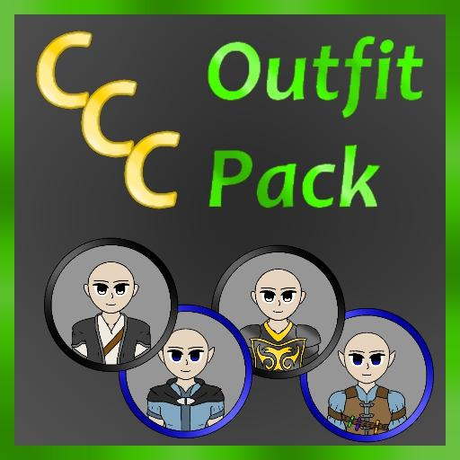Customizable Cartoon Characters Outfit Pack