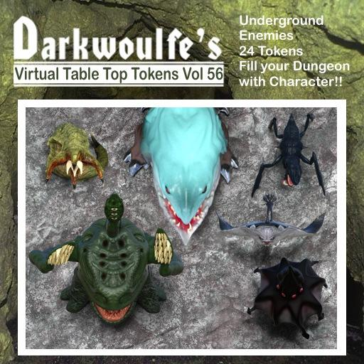Darkwoulfe's Tokens: Underground Enemies