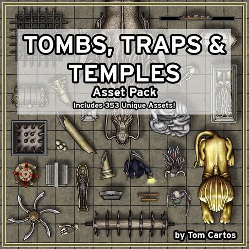 Tombs, Traps & Temples Asset Pack
