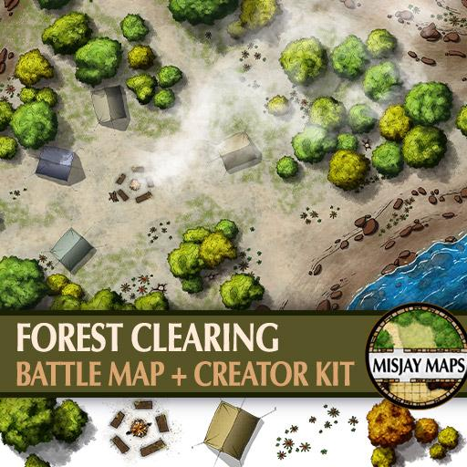 Forest Clearing & Campsite