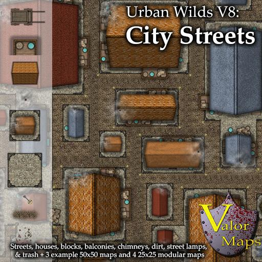 Urban Wilds V8 City Streets