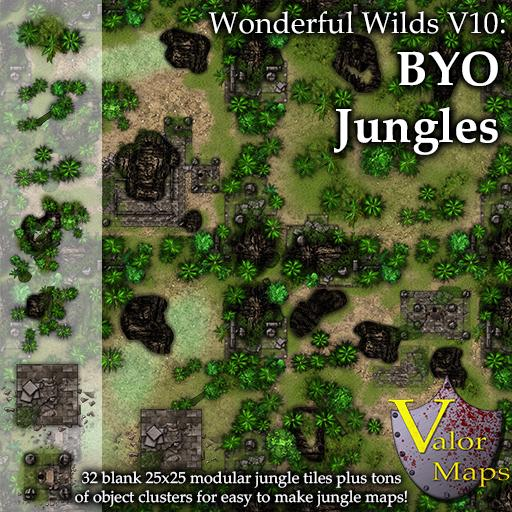 Wonderful Wilds V10 BYO Jungle Ruins