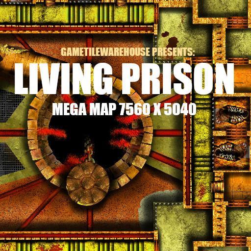 Mega Map LIVING PRISON