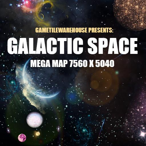 Mega Map GALACTIC SPACE