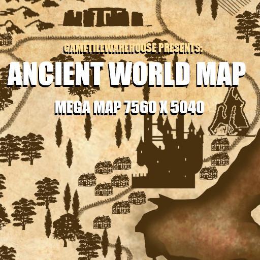 Mega Map ANCIENT WORLD MAP