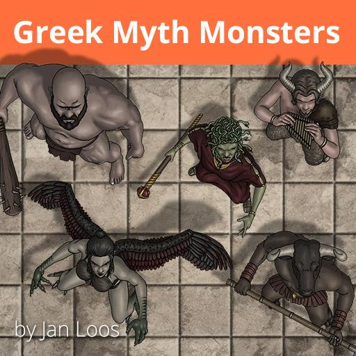 Jans Token Pack 17 - Greek Myth Monsters