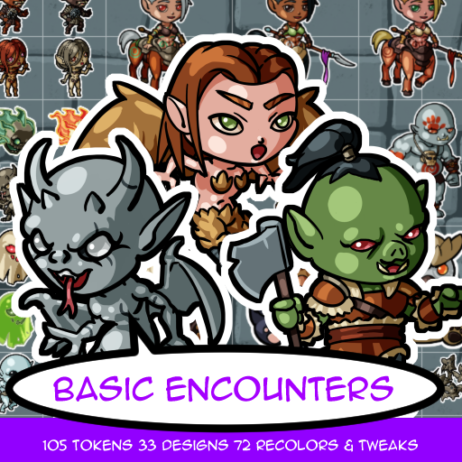 Basic Encounter Tokens