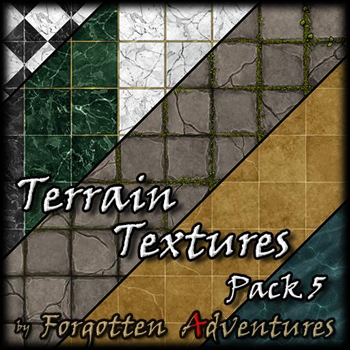 Terrain Textures - Pack 5