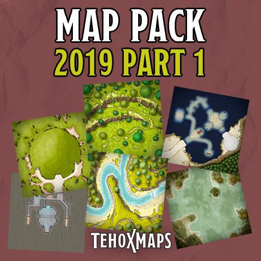 TehoxMaps 2019 Pack 1