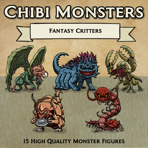 Chibi Monsters - Fantasy Critters [Figures]