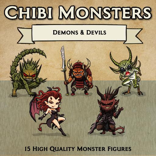 Chibi Monsters - Demons & Devils [Figures]