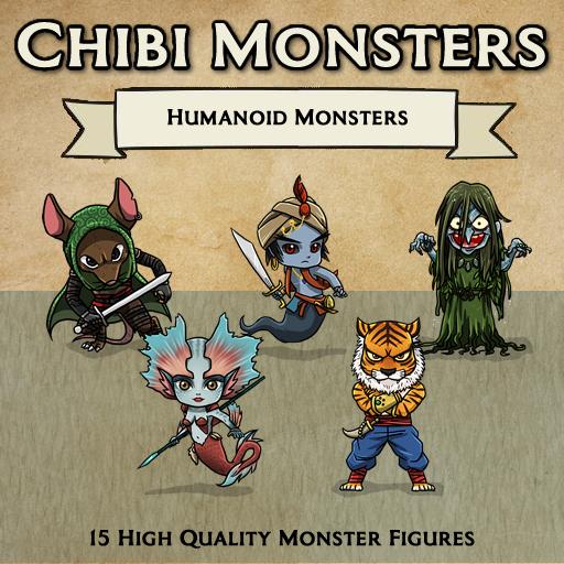 Chibi Monsters - Humanoids [Figures]