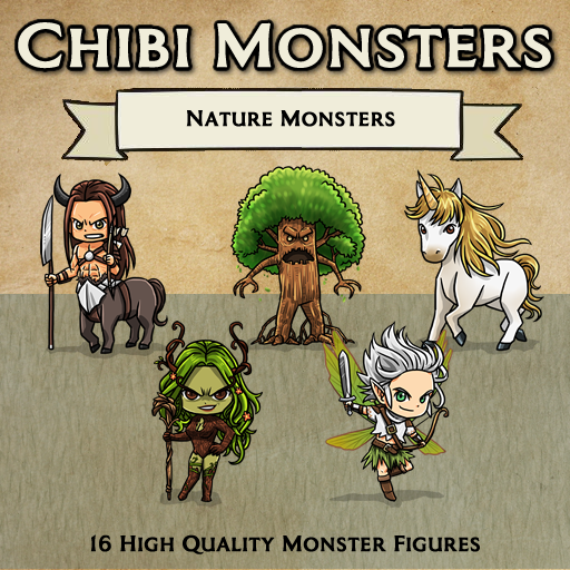 Chibi Monsters - Nature [Figures]