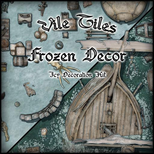 Vile Tiles: Frozen Decor