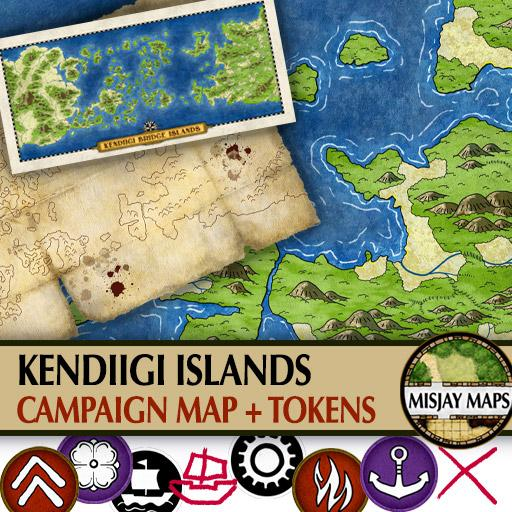 Kendiigi Islands Campaign Map
