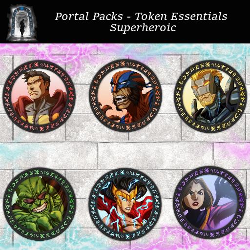 Portal Packs -Token Essentials - Superheroic