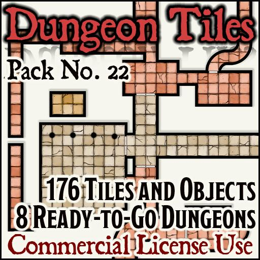 Ready to Go Dungeons + Tiles