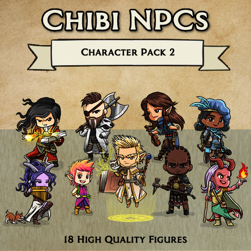 Chibi NPCs - Character Pack 2 [Figures]