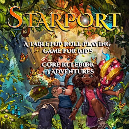 Starport - Core Rulebook + 3 Adventures