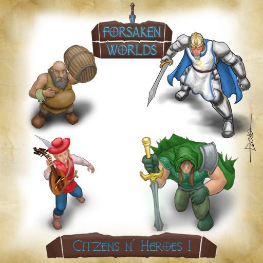 Forsaken Worlds - Citzens n' Heroes 1