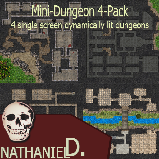 Mini-Dungeon 4-Pack