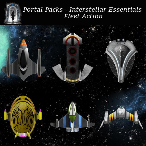 Portal Packs - Interstellar Essentials - Fleet Action