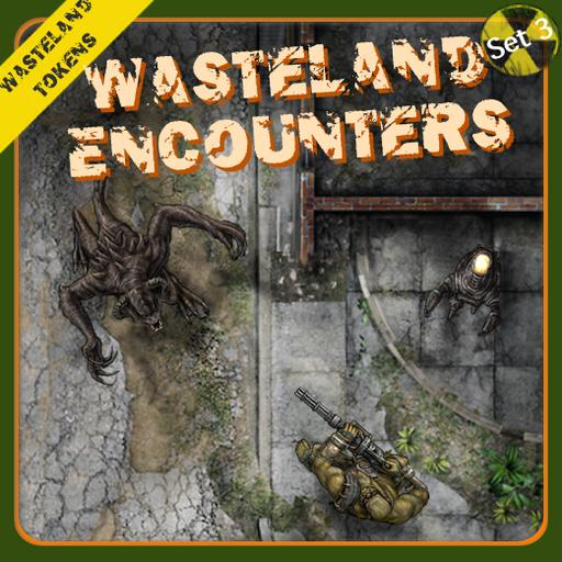 Wasteland Tokens Set 3, Wasteland Encounters