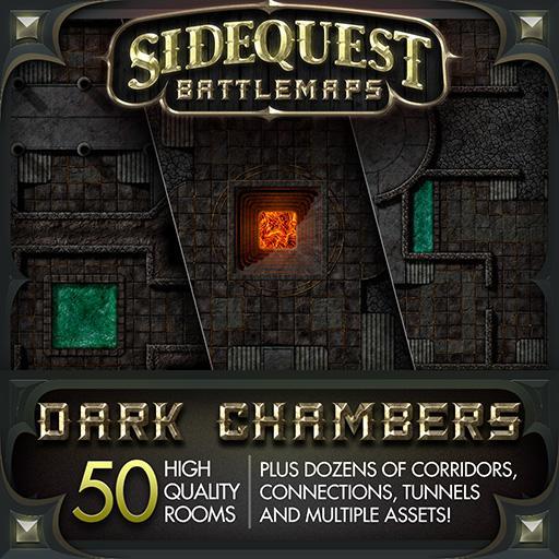 Sidequest Battlemaps: Dark Chambers