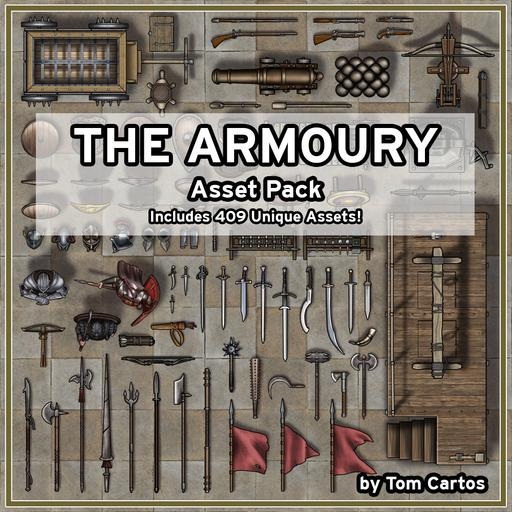 The Armoury Asset Pack