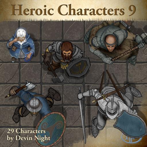 Devin Token Pack 69 - Heroic Characters 9