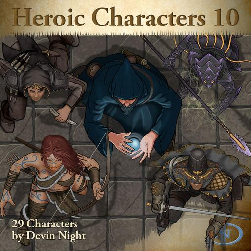 70 - Heroic Characters 10