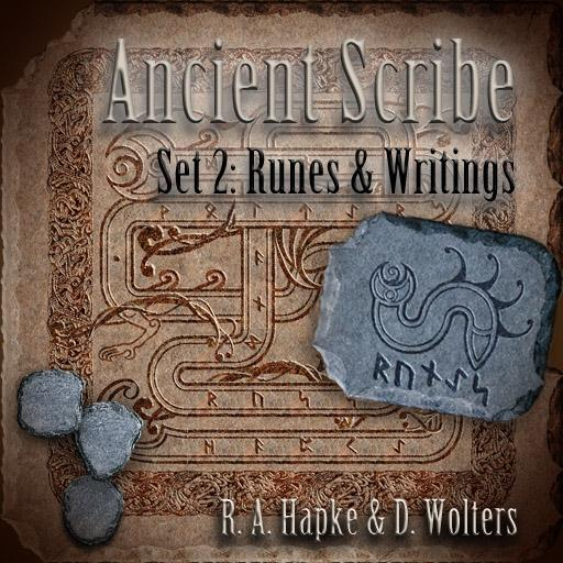 Ancient Scribe Set 2: Runes & Writings