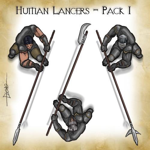 Human Lancers - Pack 1