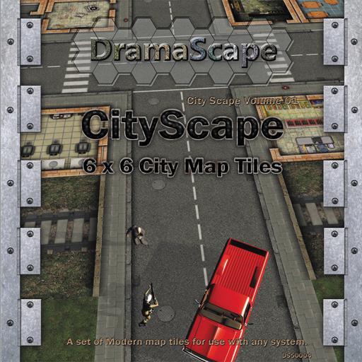 City Scape 6 x 6