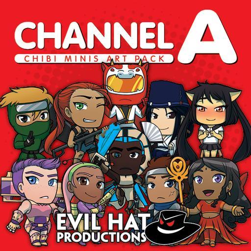 Channel A Chibi Minis