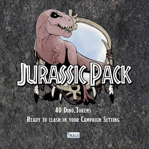 Jurassic Pack!! (40 Dino-Tokens)