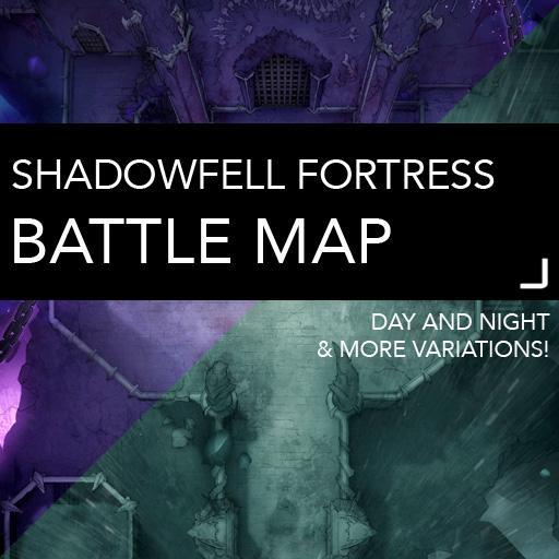 Shadowfell Fortress Batlemaps