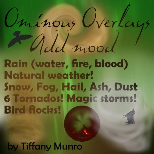 Ominous Overlays - Magic and Weather Storms