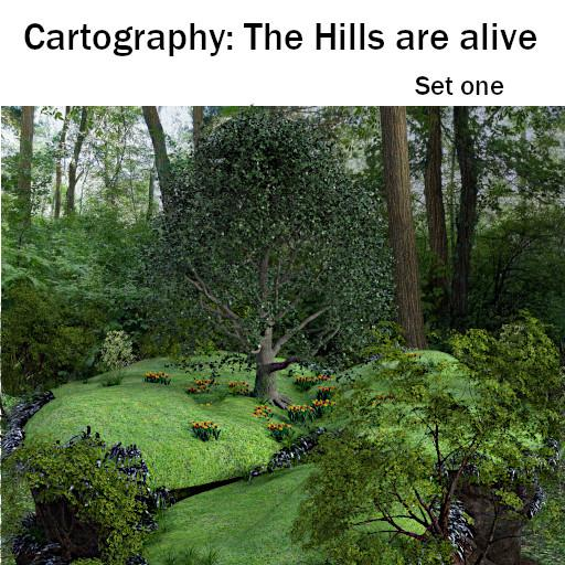 Cartography: The Hills are Alive - Set 1