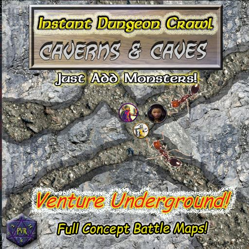 Instant Dungeon Crawl: Caverns & Caves