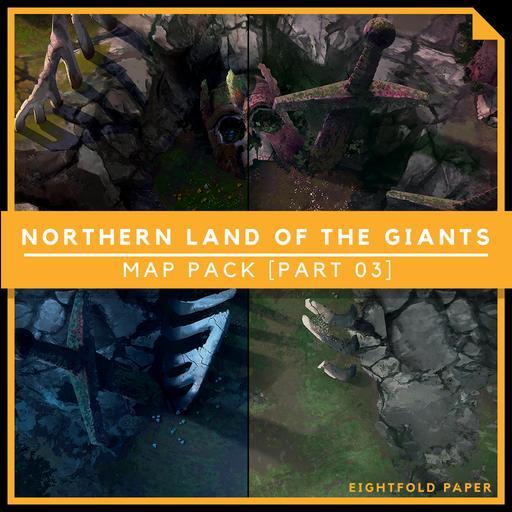 Northern Land of Giants [Part 3] - Battlemap