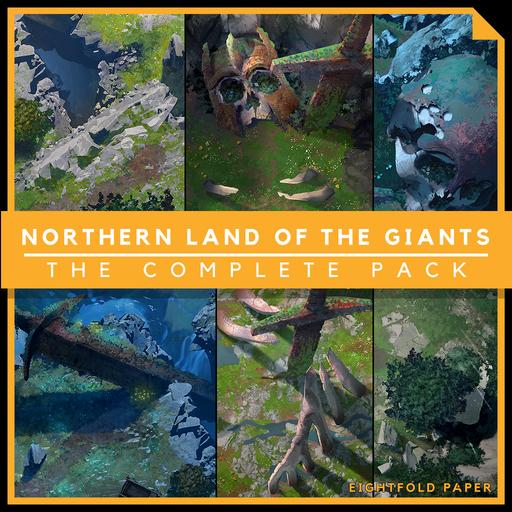 Northern Land of Giants [The Complete Pack] - Battlemap