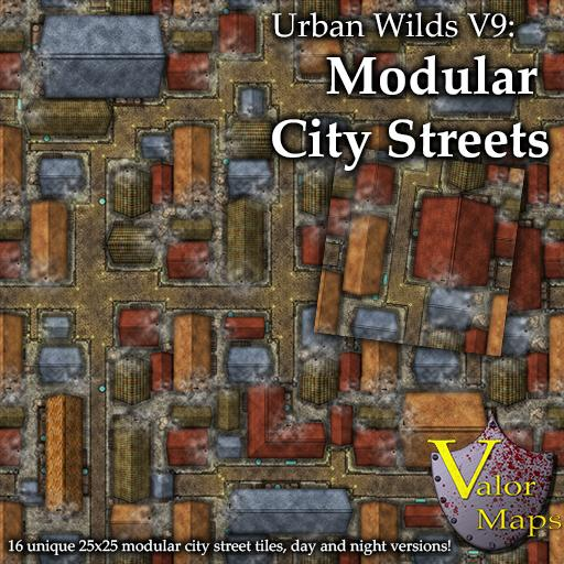 Urban Wilds V9: Modular City Streets