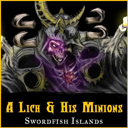 A Lich and his Minions